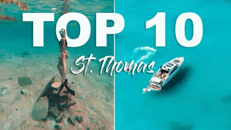 ST. THOMAS TOP 10 things to do US VIRGIN ISLANDS   2021   Traveling during Covid-19