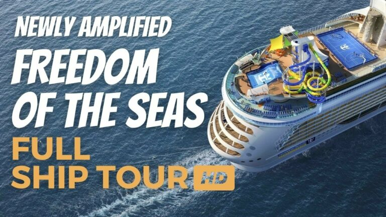 ROYAL CARIBBEAN AMPLIFIED FREEDOM OF THE SEAS 2021   SHIP TOUR & REVIEW ALL DECKS AND PUBLIC AREAS!