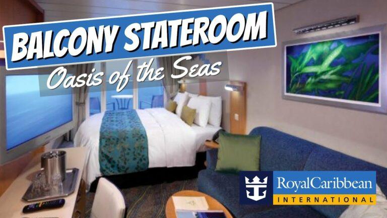 Royal Caribbean Oasis of the Seas | Balcony Stateroom Full Walkthrough Tour & Review 4k