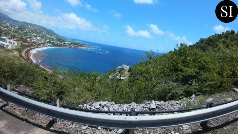 Driving Around St Kitts | St Kitts and Nevis | Caribbean | 4K