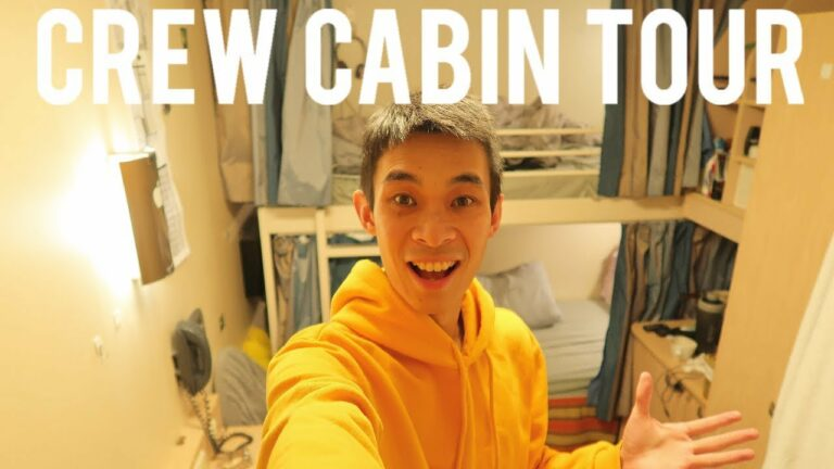 CREW CABIN TOUR | I Work On A Cruise Ship | Royal Caribbean Crew VLOG