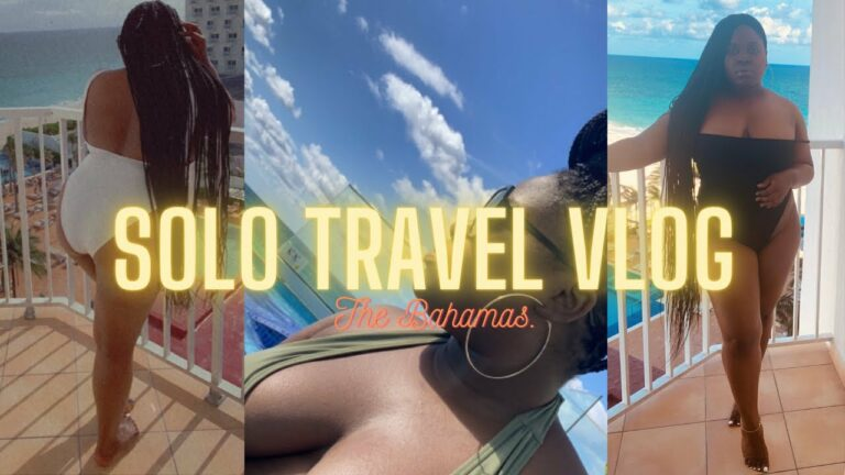 VLOG: MY FIRST SOLO TRIP   CARIBBEAN VACATION WITH ME   PART ONE   MEDGED