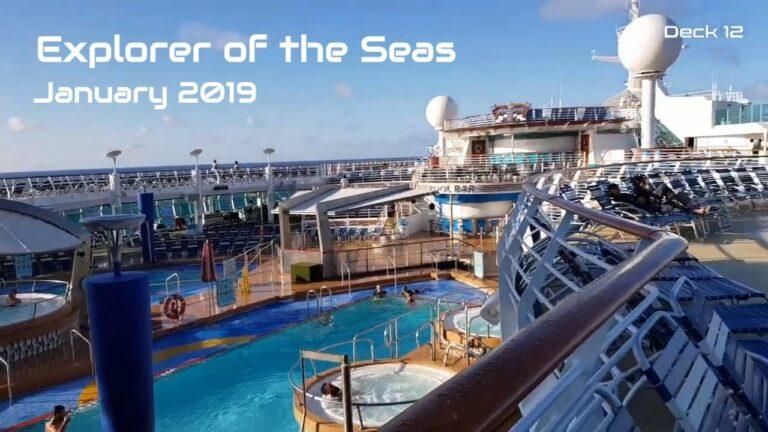Royal Caribbean | Explorer of The Seas Ship Tour (2019)