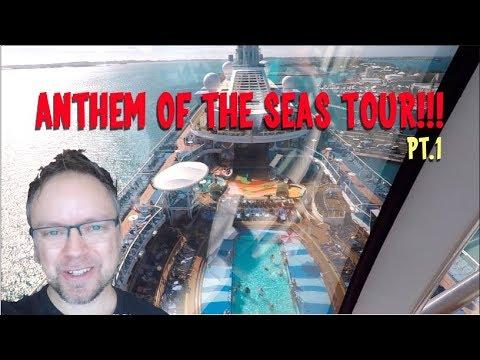 Anthem of the Seas Ship Tour – Royal Caribbean