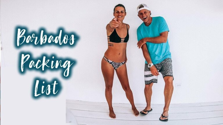 HERE'S WHAT YOU NEED FOR A TRIP TO BARBADOS!!!!! #barbados #caribbean #travel #adventure #islandtour