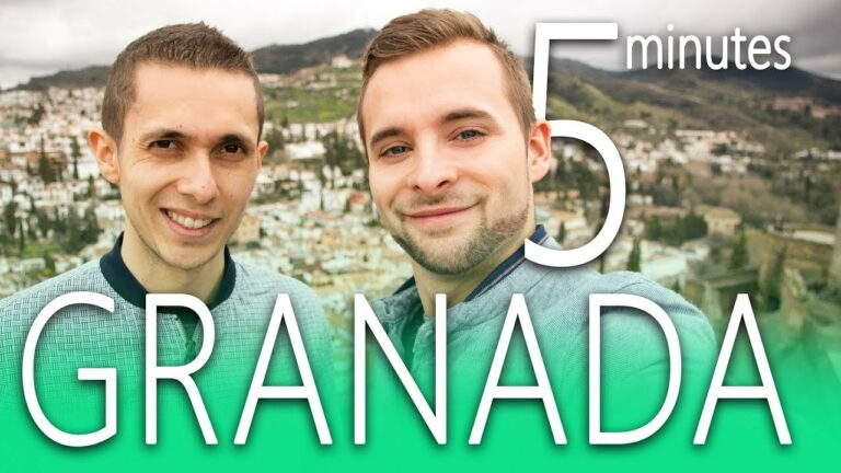 GRANADA in 5 minutes   Travel Guide   TOP Highlights