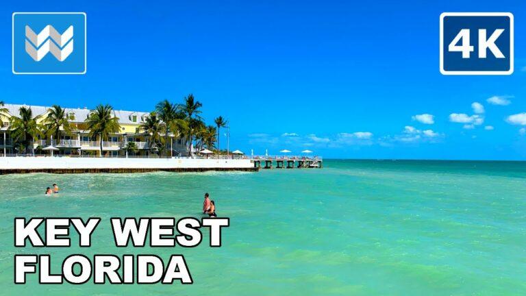 [4K] Key West, Florida 2021 – Duval Street Walking Tour & Travel Guide 🎧 Binaural Sound